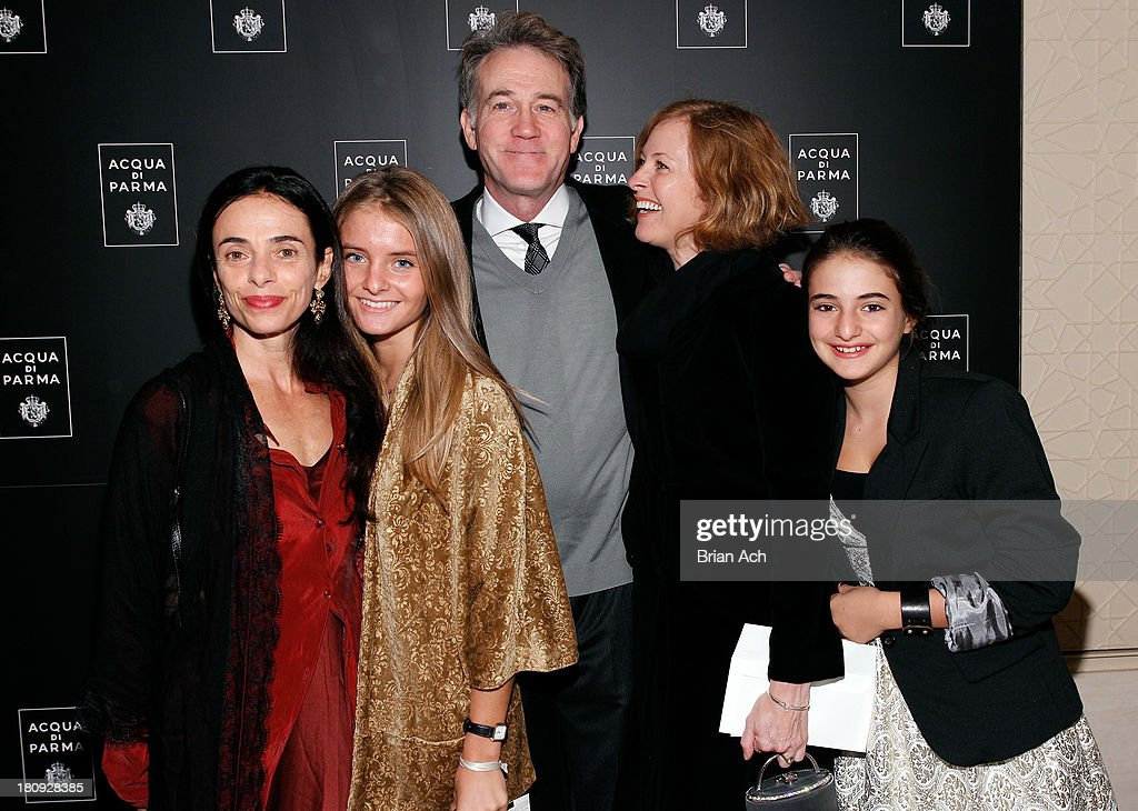 Dancer Alessandra Ferri, Matilde Ferri, actors <a gi-track='captionPersonalityLinkClicked' href=/galleries/search?phrase=Boyd+Gaines&family=editorial&specificpeople=705809 ng-click='$event.stopPropagation()'>Boyd Gaines</a> and Kathleen McNenny and Emma Ferri attend Acqua di Parma gala event: Roberto Bolle and Friends tribute to La nobilita' del Fare Giovanni Gastel photo exhibition, as part of 2013 year of Italian Culture in The US on September 17, 2013 in New York City.