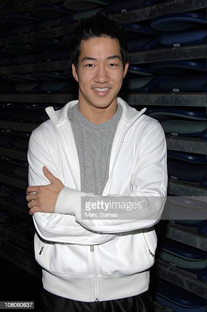 Dancer Alex Wong attends a Contemporary Master Class at the Manhattan Movement Arts Center on January 15 2011 in New York City