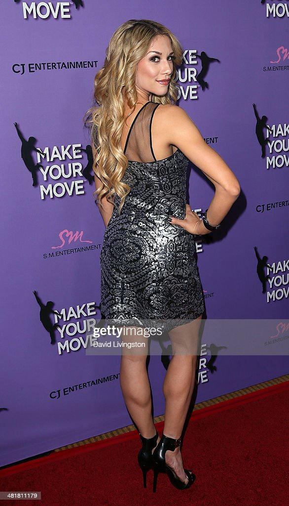 Dancer Allison Holker attends a screening of 'Make Your Move' at Pacific Theatre at The Grove on March 31, 2014 in Los Angeles, California.