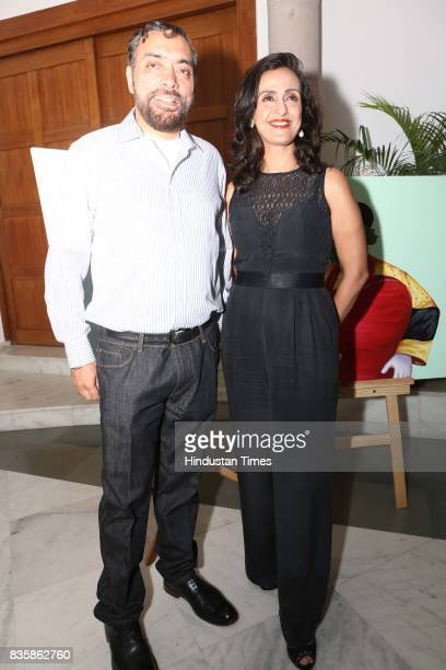 Dancer and actor Shivani Wazir Pasrich during a launch of businesswoman Priti Paul's debut book that aims at teaching alphabet in an Indian way at...