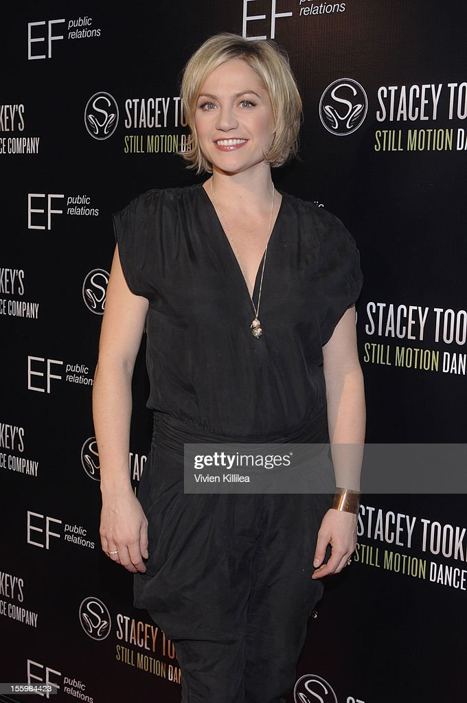 Dancer and choreographer Stacey Tookey attends FOX's 'So You Think You Can Dance' Stacey Tookey Debuts 'Moments Defined' Dance Company at Nate Holden Theatre Center on November 9, 2012 in Los Angeles, California.
