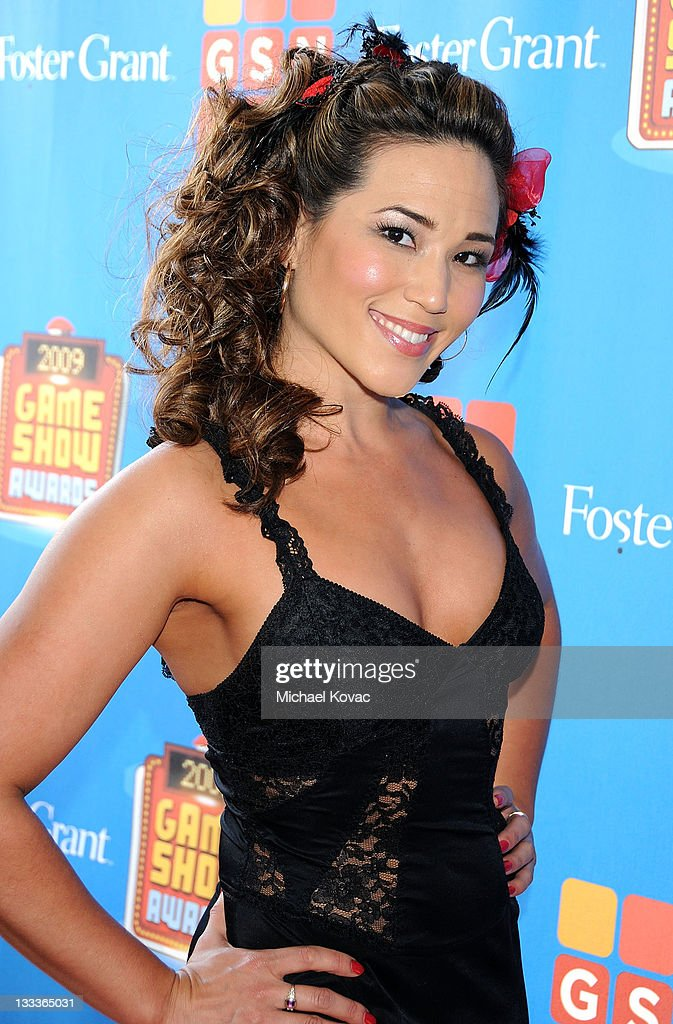 Dancer Anya Fuchs arrives at the GSN's 1st Annual Game Show Awards at the Wilshire Theatre Beverly Hills on May 16, 2009 in Beverly Hills, California.