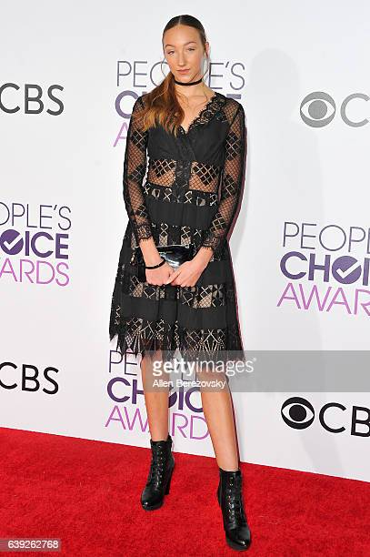 Dancer Ava Cota arrives at People's Choice Awards 2017 at Microsoft Theater on January 18 2017 in Los Angeles California