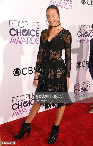 Dancer Ava Cota attends the People's Choice Awards 2017 at Microsoft Theater on January 18 2017 in Los Angeles California