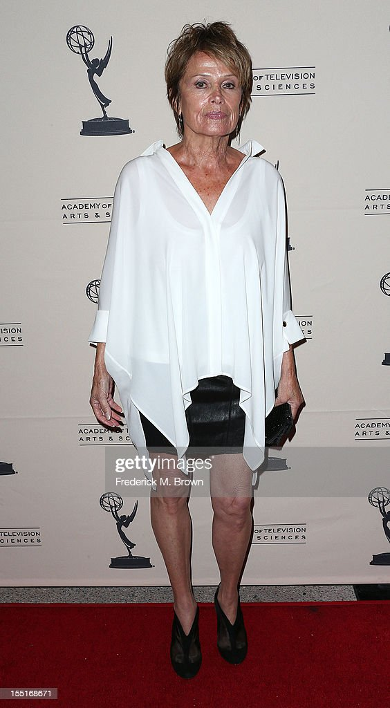 Dancer Barrie Chase attends The Academy of Television Arts & Sciences' Presents 'The Choreographers: Yesterday, Today and Tomorrow at the Leonard H. Goldenson Theatre on November 1, 2012 in North Hollywood, California.