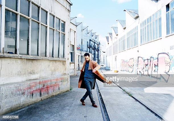 Dancer Benjamin Millepied is photographed for Le Point on July 15 2015 in Paris France