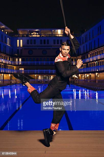 Dancer Brahim Zaibat is photographed for Self Assignment on April 5 2016 in Paris France
