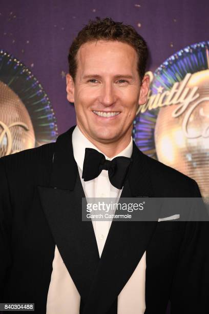 Dancer Brendan Cole attends the 'Strictly Come Dancing 2017' red carpet launch at The Piazza on August 28 2017 in London England