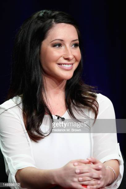 Dancer Bristol Palin speaks onstage at the 'Dancing with the Stars AllStars' panel during the Disney/ABC Television Group portion of the 2012 Summer...
