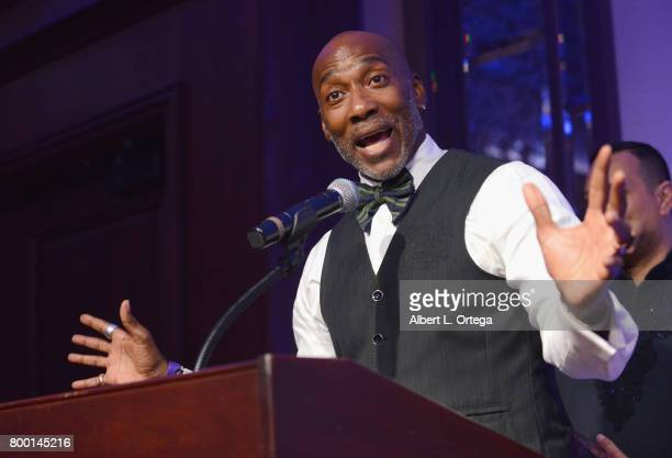 Dancer Carlton Wilborn attends the Entertainment AIDS Alliance's Annual EAA Wine Wisdom Vision Event Benefiting Village Health Foundation And UCLA...