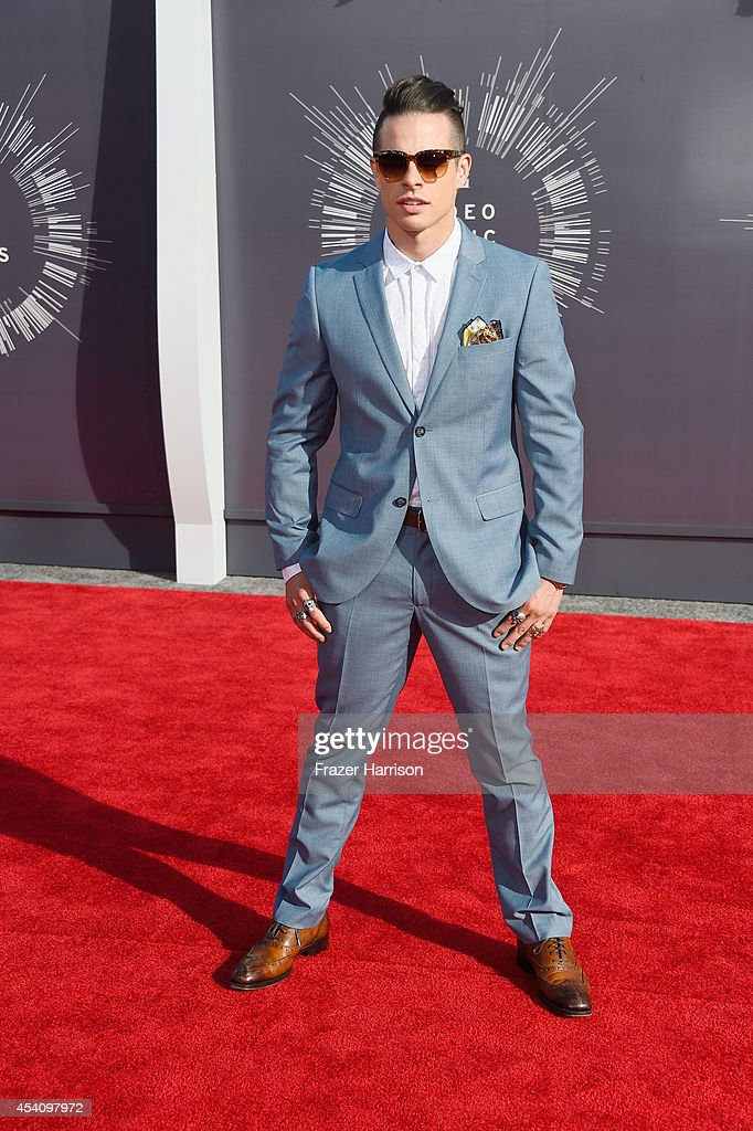 Dancer Casper Smart attends the 2014 MTV Video Music Awards at The Forum on August 24, 2014 in Inglewood, California.