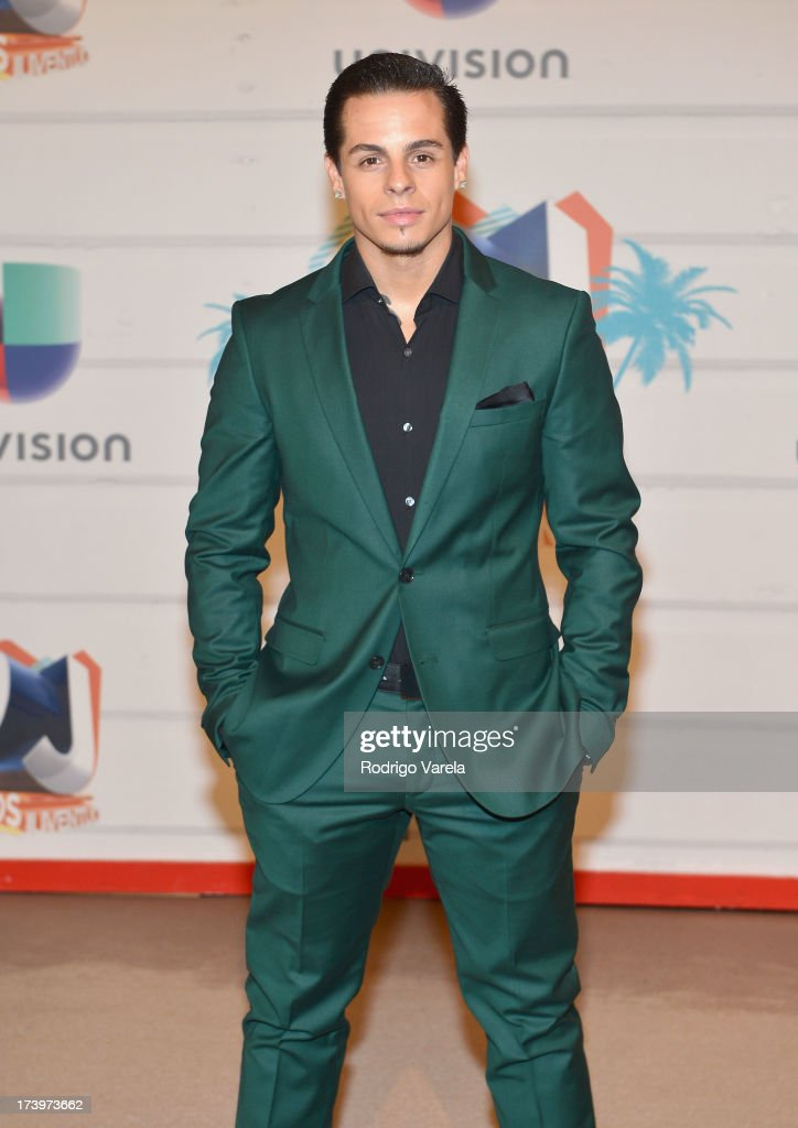 Dancer Casper Smart attends the Premios Juventud 2013 at Bank United Center on July 18, 2013 in Miami, Florida.