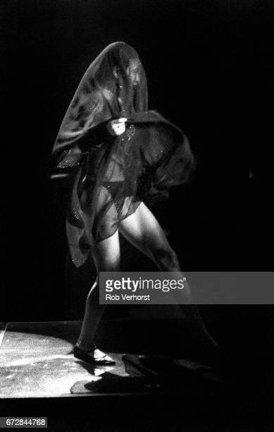 Dancer Cat Glover performs on stage with Prince on the Lovesexy Tour Palais Omnisport de Paris Bercy Paris France 9th July 1988