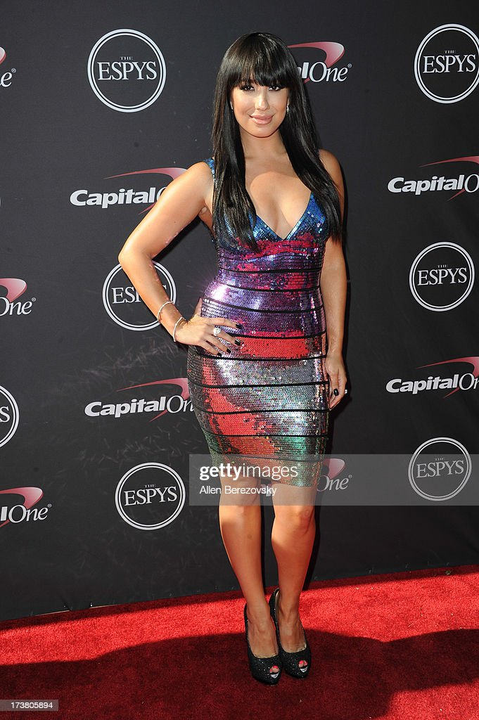 Dancer Cheryl Burke arrives at the 2013 ESPY Awards at Nokia Theatre L.A. Live on July 17, 2013 in Los Angeles, California.