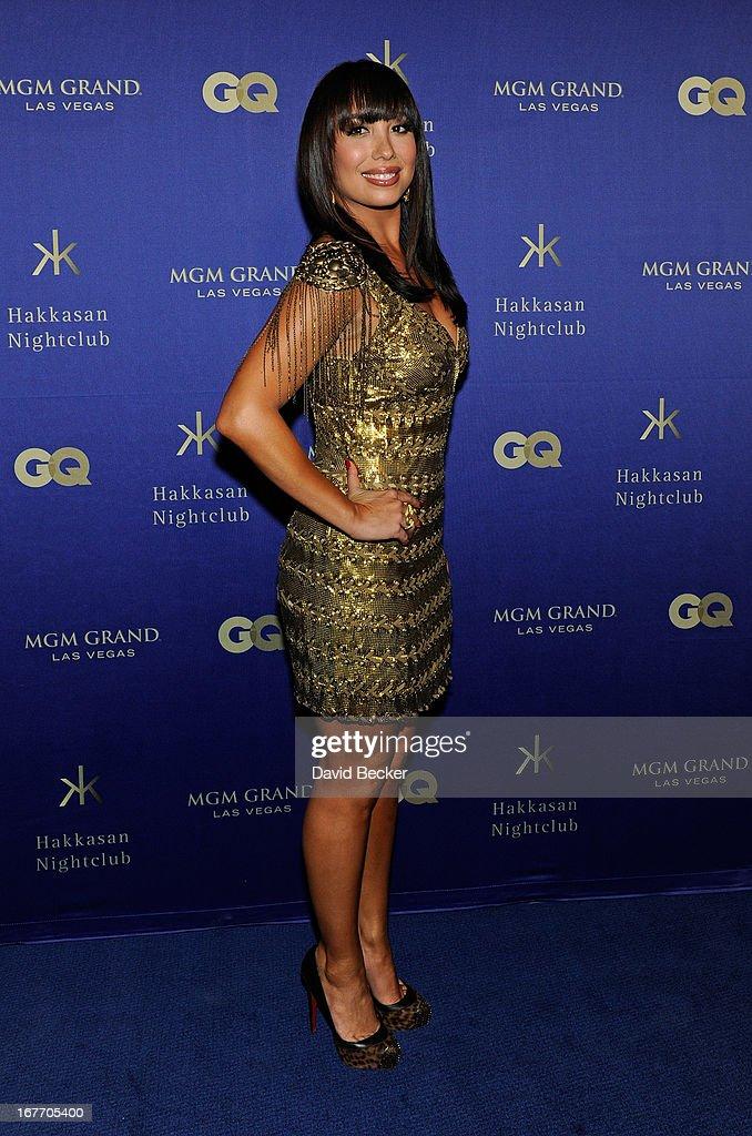 Dancer Cheryl Burke arrives at the grand opening of Hakkasan Las Vegas Restaurant and Nightclub at the MGM Grand Hotel/Casino on April 27, 2013 in Las Vegas, Nevada.
