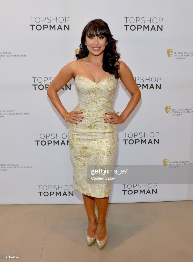 Dancer <a gi-track='captionPersonalityLinkClicked' href=/galleries/search?phrase=Cheryl+Burke&family=editorial&specificpeople=540289 ng-click='$event.stopPropagation()'>Cheryl Burke</a> attends BAFTA Los Angeles and Sir Philip Green Celebrate the British New Wave at Topshop Topman at The Grove on April 30, 2013 in Los Angeles, California.