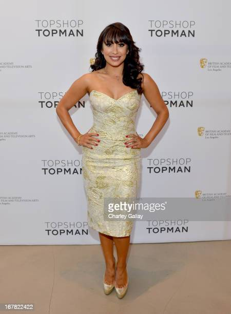 Dancer Cheryl Burke attends BAFTA Los Angeles and Sir Philip Green Celebrate the British New Wave at Topshop Topman at The Grove on April 30 2013 in...