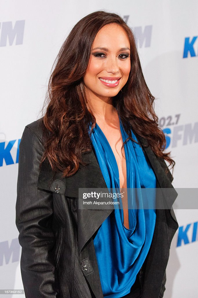 Dancer Cheryl Burke attends KIIS FM's 2012 Jingle Ball at Nokia Theatre L.A. Live on December 1, 2012 in Los Angeles, California.