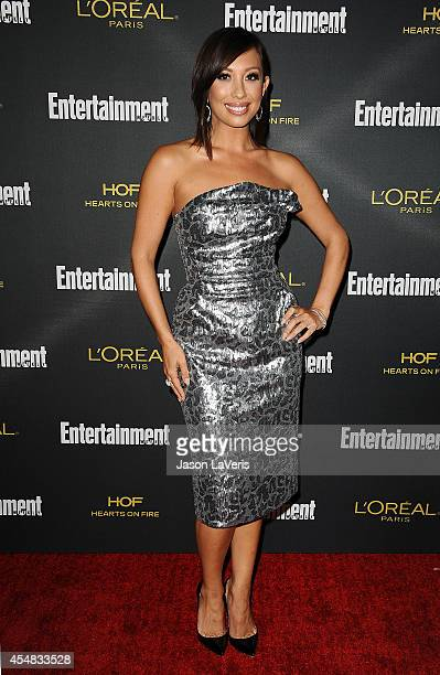 Dancer Cheryl Burke attends the 2014 Entertainment Weekly preEmmy party at Fig Olive Melrose Place on August 23 2014 in West Hollywood California