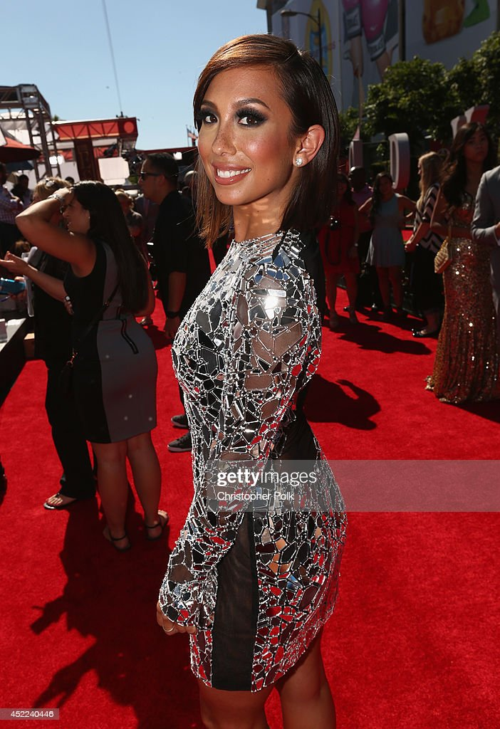 Dancer <a gi-track='captionPersonalityLinkClicked' href=/galleries/search?phrase=Cheryl+Burke&family=editorial&specificpeople=540289 ng-click='$event.stopPropagation()'>Cheryl Burke</a> attends The 2014 ESPYS at Nokia Theatre L.A. Live on July 16, 2014 in Los Angeles, California.