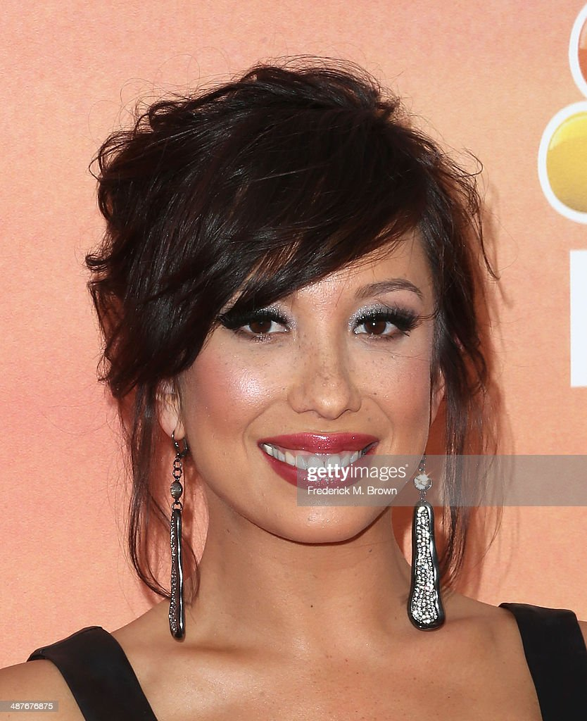 Dancer Cheryl Burke attends the 2014 iHeartRadio Music Awards at The Shrine Auditorium on May 1, 2014 in Los Angeles, California.