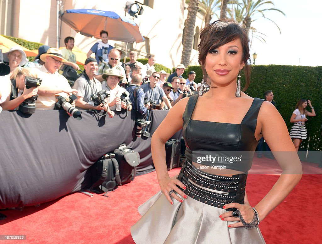 Dancer Cheryl Burke attends the 2014 iHeartRadio Music Awards held at The Shrine Auditorium on May 1, 2014 in Los Angeles, California. iHeartRadio Music Awards are being broadcast live on NBC.