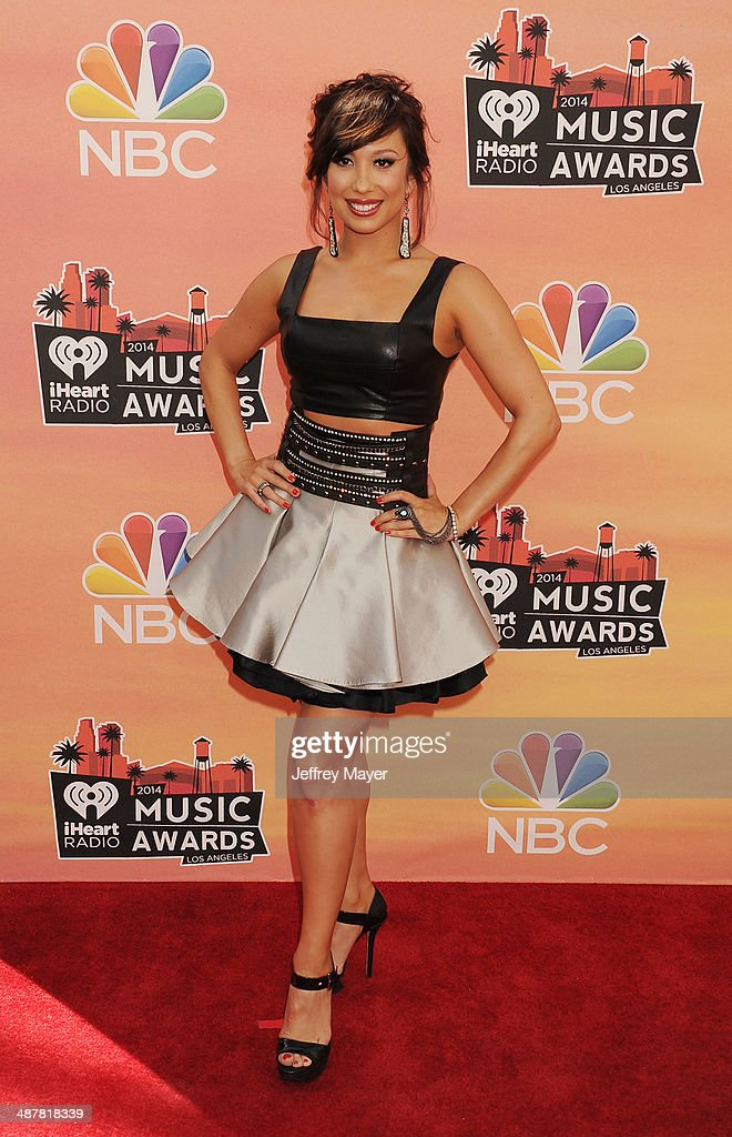 Dancer Cheryl Burke attends the 2014 iHeartRadio Music Awards held at The Shrine Auditorium on May 1, 2014 in Los Angeles, California.