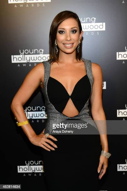 Dancer Cheryl Burke attends the 2014 Young Hollywood Awards brought to you by Mr Pink held at The Wiltern on July 27 2014 in Los Angeles California