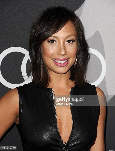 Dancer Cheryl Burke attends the Audi Golden Globe week celebration at Cecconi's Restaurant on January 8 2015 in Los Angeles California