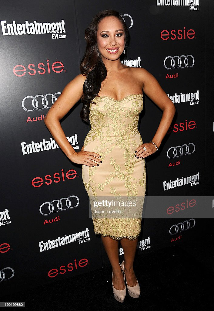 Dancer Cheryl Burke attends the Entertainment Weekly Screen Actors Guild Awards pre-party at Chateau Marmont on January 26, 2013 in Los Angeles, California.
