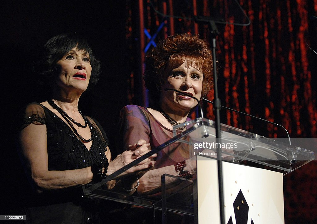 Dancer Chita Rivera and Carol Lawrence speak during the Recording Academy New York Chapter's Tribute to Bon Jovi Alicia Keys Donnie McClurkin and the...