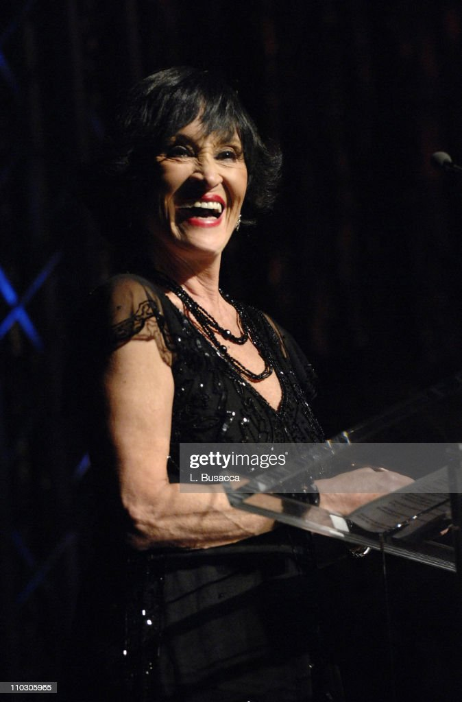 Dancer Chita Rivera speaks during the Recording Academy New York Chapter's Tribute to Bon Jovi Alicia Keys Donnie McClurkin and the creators of West...