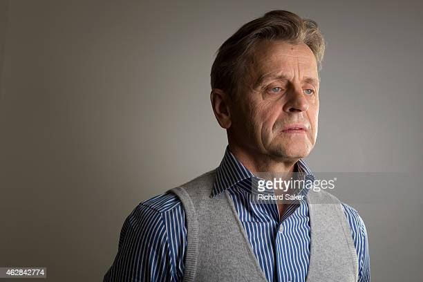 Dancer choreographer and actor Mikhail Baryshnikov is photographed for the Observer on October 24 2014 in London England