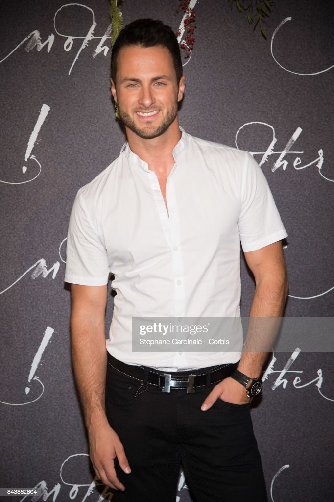 Dancer Christian Millette attends the French Premiere of 'mother!' at Cinema UGC Normandie on September 7, 2017 in Paris, France.