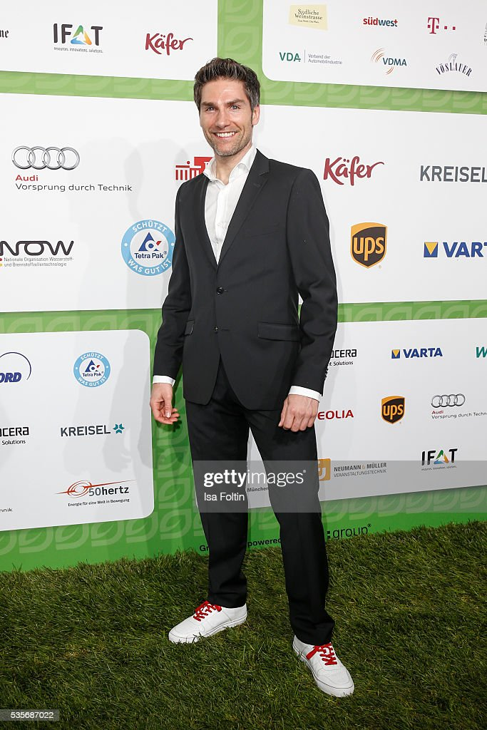 Dancer Christian Polanc attends the Green Tec Award at ICM Munich on May 29, 2016 in Munich, Germany.