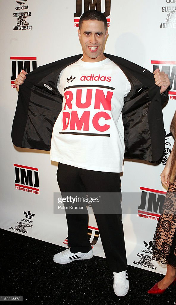 Dancer Crazy Legs attends the 35th anniversary of the Adidas superstar sneaker honoring the life of Jam Master Jay on February 25, 2005 in New York City.