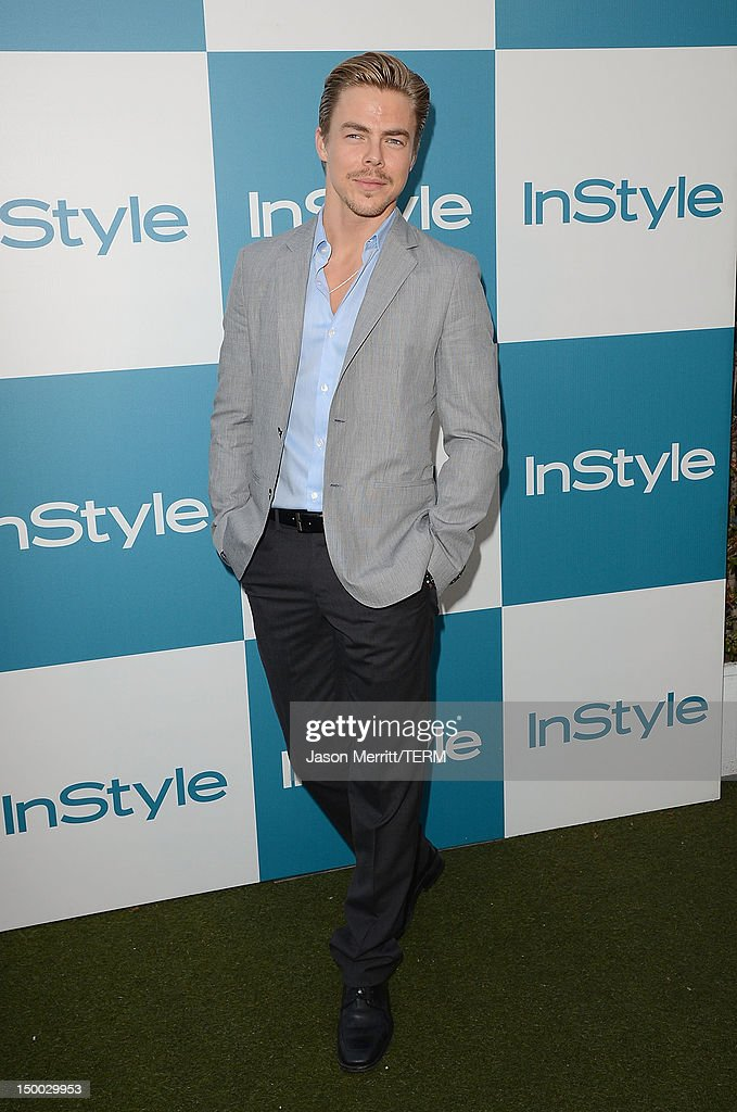Dancer Derek Hough attends the 11th annual InStyle summer soiree held at The London Hotel on August 8, 2012 in West Hollywood, California.