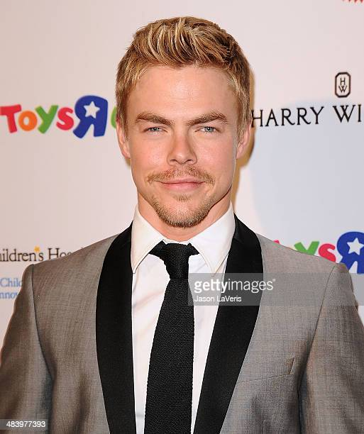Dancer Derek Hough attends the Kaleidoscope Ball at Beverly Hills Hotel on April 10 2014 in Beverly Hills California