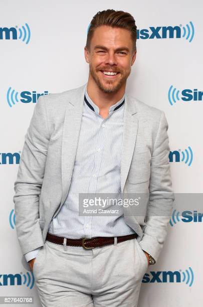 Dancer Derek Hough visits the SiriusXM Studios on August 8 2017 in New York City