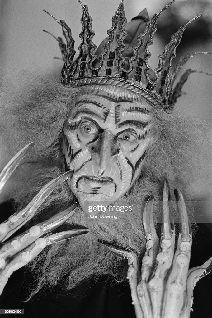 Dancer Derek Rencher as Kashchei in 'The Firebird' at the Royal Opera House, December 1986.