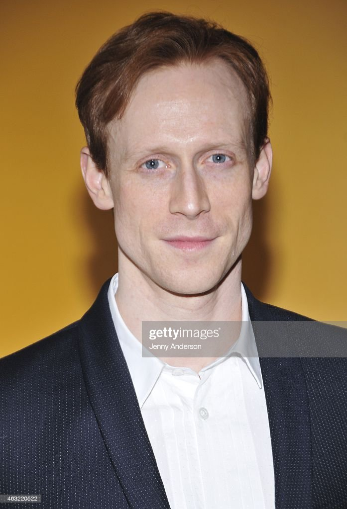 Dancer Edward Watson attends The Royal Ballet's 'The Winter Tale' preview reception at Crosby Street Hotel on February 11, 2015 in New York City.