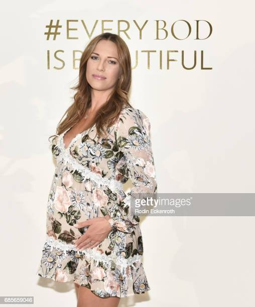 Dancer Edyta Sliwinska attends the grand opening of The Bod by Kym Herjavec on May 19 2017 in Beverly Hills California