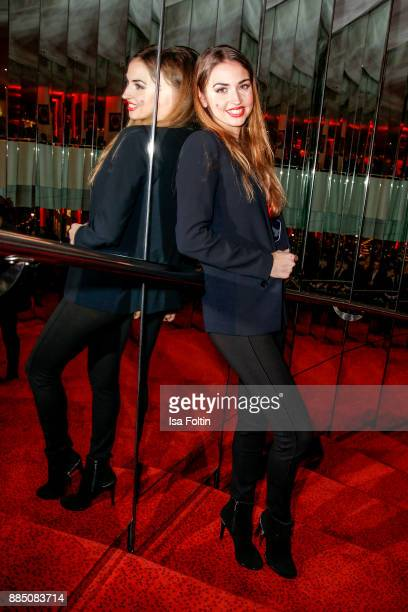 Dancer Ekaterina Leonova attends the 'Kinky Boots' Musical Premiere at Stage Operettenhaus on December 3 2017 in Hamburg Germany