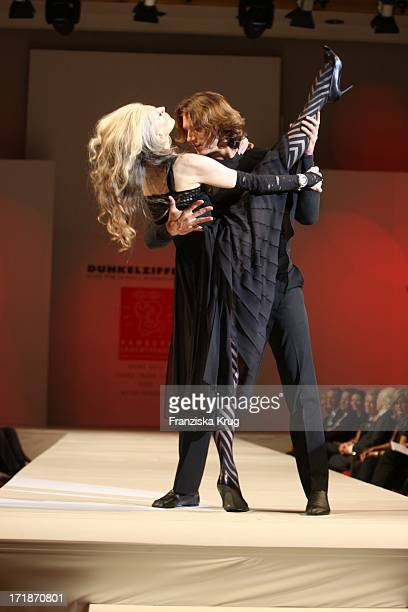 Dancer Eveline Hall And Pepe Munoz at Event Prominent at the Grand Elysee in Hamburg