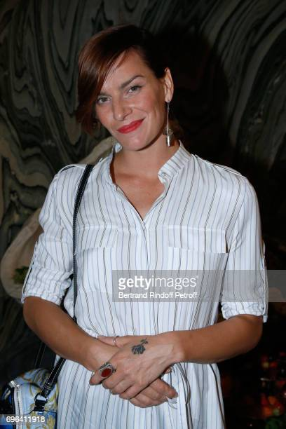 Dancer Fauve Hautot attends the JeanPaul Gaultier 'Scandal' Fragrance Launch at Hotel de Behague on June 15 2017 in Paris France