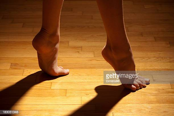 Dancer feet