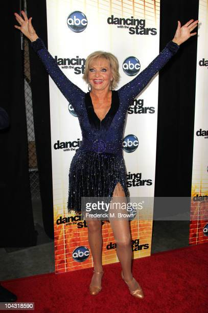 Dancer Florence Henderson attends the premiere of 'Dancing With The Stars' at CBS Television City on September 20 2010 in Los Angeles California