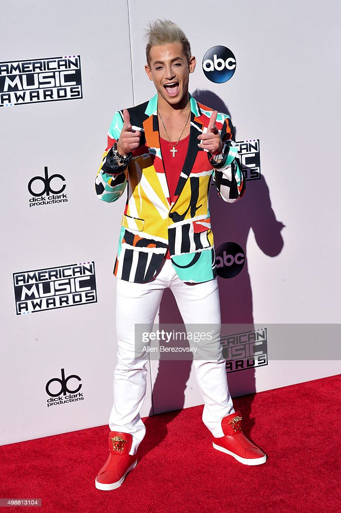 Dancer Frankie J. Grande arrives at the 2015 American Music Awards at Microsoft Theater on November 22, 2015 in Los Angeles, California.