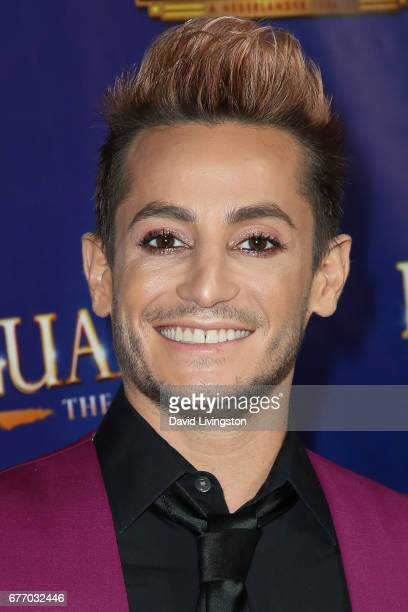 Dancer Frankie J Grande arrives at the premiere of 'The Bodyguard' at the Pantages Theatre on May 2 2017 in Hollywood California