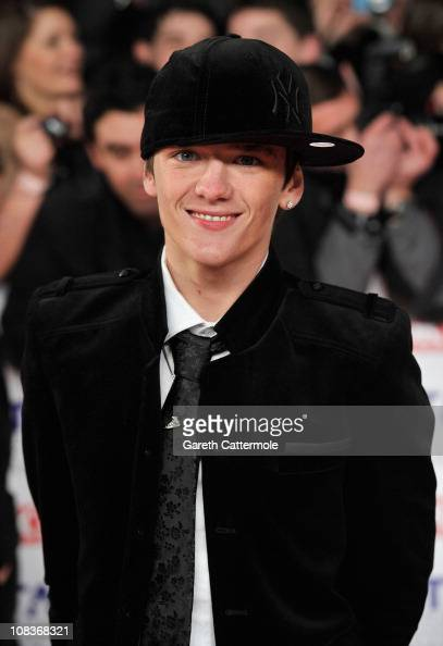 Dancer George Sampson attends the National Television Awards at the O2 Arena on January 26 2011 in London England